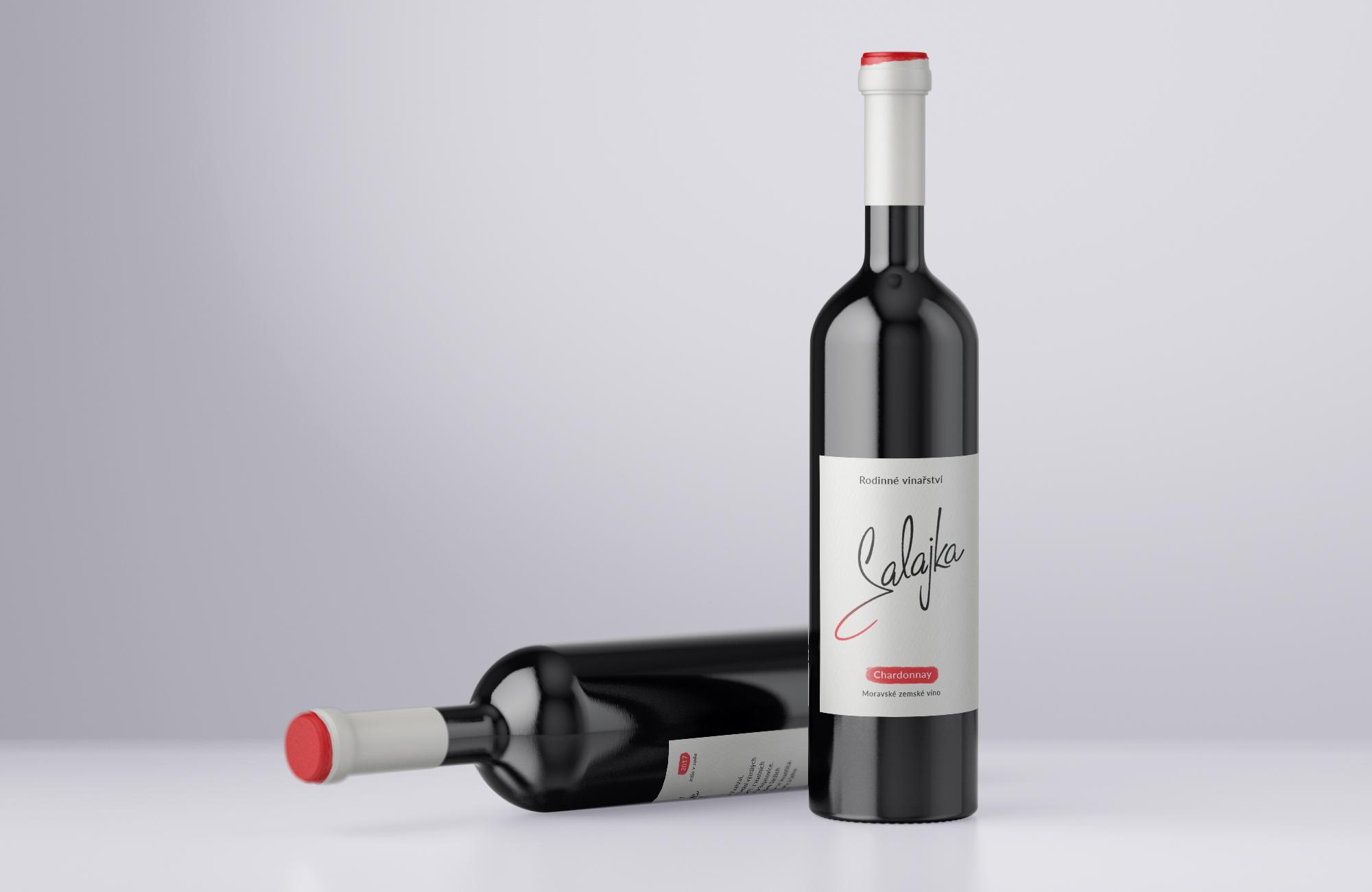 Firemní identita pro vinařství Salajka